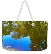 All Pond Treeflections Weekender Tote Bag