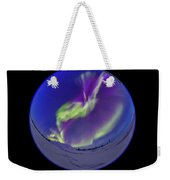 All-sky Aurora In The Twilight Weekender Tote Bag