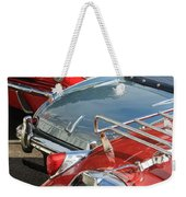 All That Chrome Weekender Tote Bag