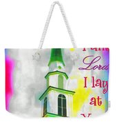 All That I Am Weekender Tote Bag
