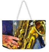 All That Jazz  Weekender Tote Bag