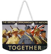 All The Commonwealth Countries Unite. Weekender Tote Bag