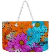 All The Flower Petals In This World 2 Weekender Tote Bag by Kume Bryant