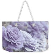 All The Lavender Roses Weekender Tote Bag