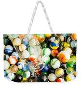 All The Marbles Weekender Tote Bag