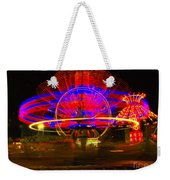 All The Rides Moving At Once Weekender Tote Bag