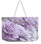 All The Soft Violet Roses Weekender Tote Bag