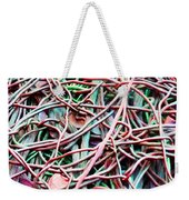 All Tied Up Abstract Art Weekender Tote Bag
