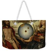 Allegory Of Christianity Oil On Panel Weekender Tote Bag
