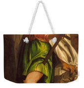 Allegory Of Navigation With A Cross-staff Weekender Tote Bag