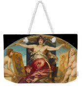 Allegory Of Religious And Profane Painting  Weekender Tote Bag