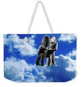 Allen And Steve In Clouds Weekender Tote Bag
