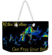 A C Can Free Your Bird #2 Weekender Tote Bag