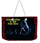 A C  Is The Blue Free Bird Weekender Tote Bag