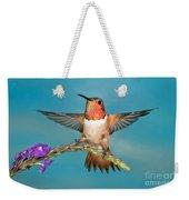 Allens Hummingbird Male Weekender Tote Bag