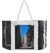 Alley 3rd Ward And Abstract Weekender Tote Bag