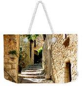 Alley In Eze, France Weekender Tote Bag