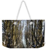 Alley In The Snow Weekender Tote Bag