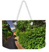 Alley With Green Plants Weekender Tote Bag