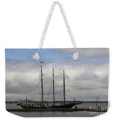 Alliance Schooner Weekender Tote Bag by Teresa Mucha