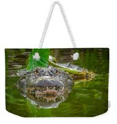 Alligator 2 Weekender Tote Bag
