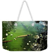 Alligator Gar Weekender Tote Bag
