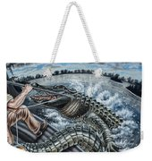 Alligator Hunt Weekender Tote Bag