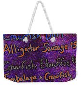 Alligator Sausage For Five Dollars 20130610 Weekender Tote Bag