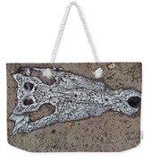 Alligator Skull Fossil 1 Weekender Tote Bag