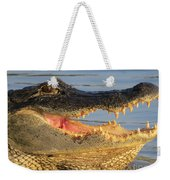Alligator's  Mouth Weekender Tote Bag