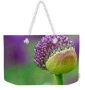 Allium Blooming Weekender Tote Bag