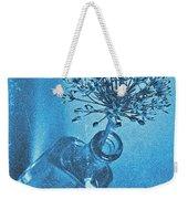 Allium Cyanotype Weekender Tote Bag