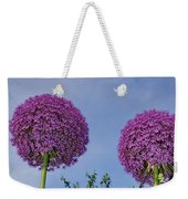 Allium Flowers Weekender Tote Bag