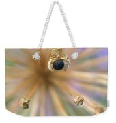 Allium Lucille Ball Seedpod Weekender Tote Bag