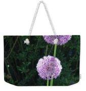 Alliums Weekender Tote Bag