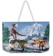 Allosaurus Pack Weekender Tote Bag