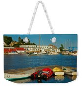 Alls Quiet In The Harbor Weekender Tote Bag