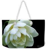 Alluring Lotus Weekender Tote Bag