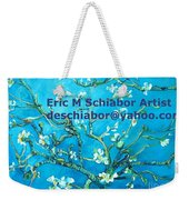 Almond Blossom Branches Weekender Tote Bag