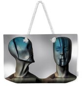 Almost Man In The Middle Weekender Tote Bag by Bob Orsillo
