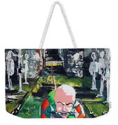 Almost Safe Among The Fittest Weekender Tote Bag