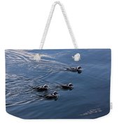 Almost Synchronized Swimming  Weekender Tote Bag