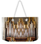 Almudena Cathedral Organ Weekender Tote Bag