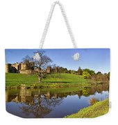 Alnwick Castle Panorama Weekender Tote Bag