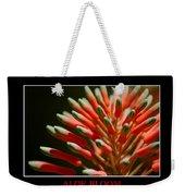 Aloe Bloom Window Weekender Tote Bag