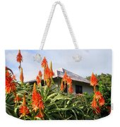 Aloe Vera And Tin Roof Plantation House Weekender Tote Bag