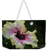 Aloha Aloalo Tropical Hibiscus Haiku Maui Hawaii Weekender Tote Bag