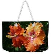 Aloha Keanae Tropical Hibiscus Weekender Tote Bag