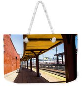 Alone At The Station Weekender Tote Bag