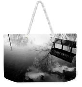 Alone I Sit Weekender Tote Bag